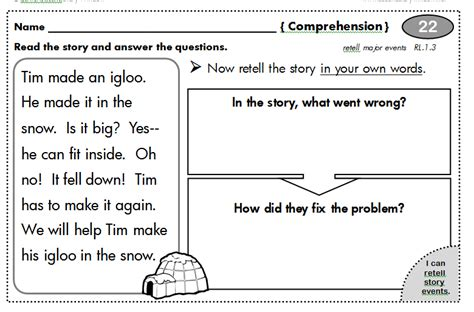Writing Homework For Grade by 1st Grade Common Homework 100 Days Second Story