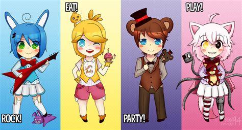 imagenes de fnaf kawaii para dibujar fnaf let s celebrate by bgm94 on deviantart
