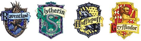 4 Houses Of Hogwarts by Blueberry Harry Potter