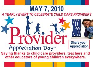 appreciation letter to daycare provider division of child care services new york state office of