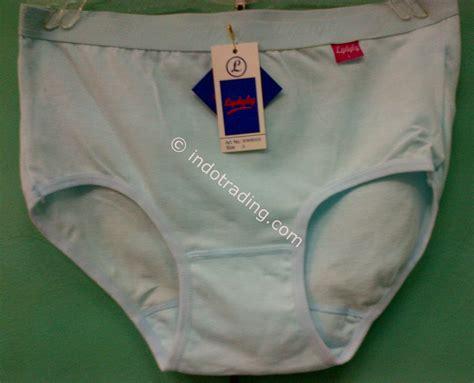 jual celana dalam wanita ukuran l putih merk lydyly harga