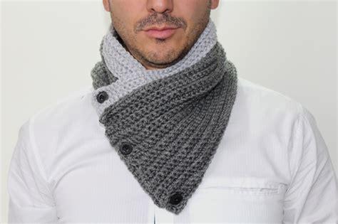 tejido bufanda de hombre creaciones crochio bufandas cubrecuellos hombre