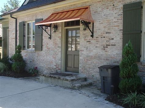 Copper Porch Awning by The Juliet Gallery Copper Awnings Projects Gallery