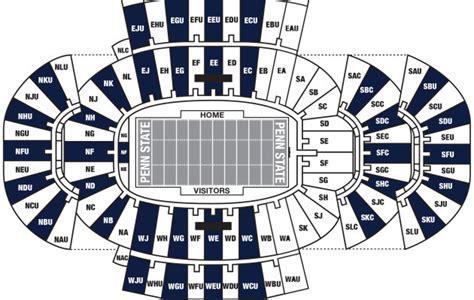 penn state stadium seating penn state stripe out plan for beaver stadium announced