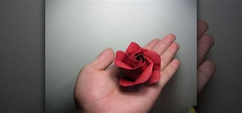 How To Fold Paper Roses - how to fold a kawasaki origami variation 171 origami