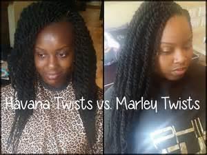 Havana Twists Vs Marley Twists Youtube Marley Braid Hairstyles Youtube