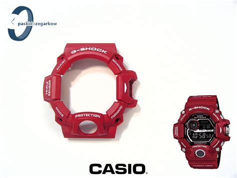Casio G Shock Gw 9400rd 4 bezel g shock gw 9400rd 4 gw 9400 czerwony matowy