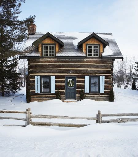 Cottages Collingwood by Kate Thornley S Century Log Ski Cabin In