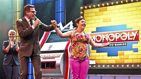 celebrity game shows on tv jumping for joy on carnival breeze s new tv game show