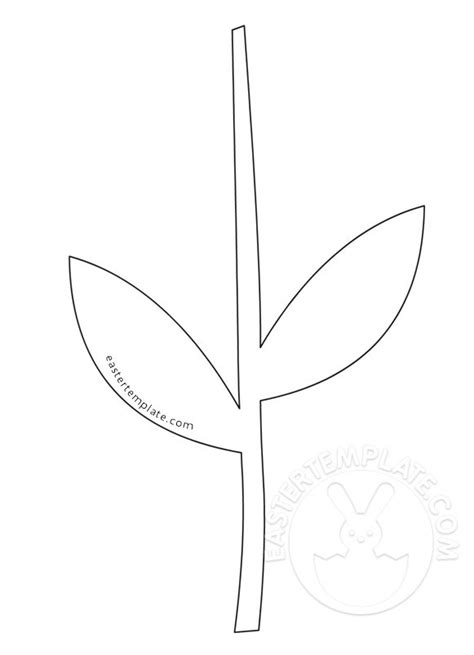 trying pattern rule with stem flower stem and leaf template www pixshark com images