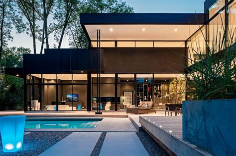 modern home design ontario modern home in oakville ontario modern exterior