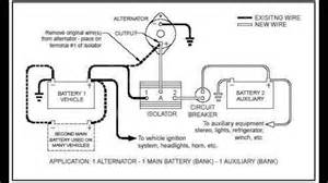 wiring diagram boat dual battery isolator winkl