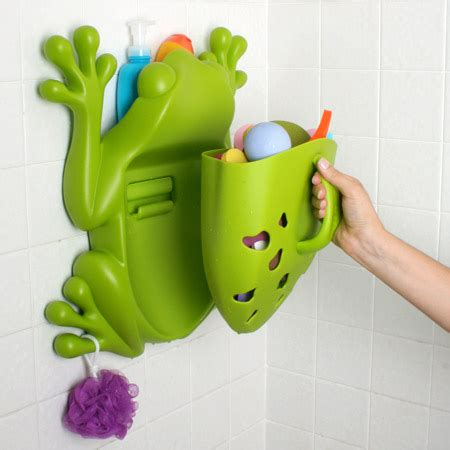 cool and bath storage frog pod and bug pod on