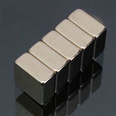 Magnet Neodymium Block 10mm X 5mm X 3mm 50pc 5pcs n52 10mm x 10mm x 5mm block magnets earth neodymium magnets alex nld