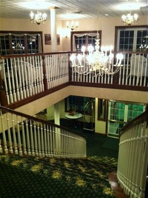 Amish Door Inn by View From The Top Of The Grand Staircase There Are