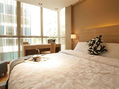 comfort bars in the bedroom and comfortable interior design