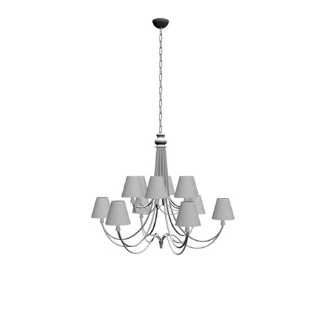 kronleuchter 3d royal chandelier design and decorate your room in 3d