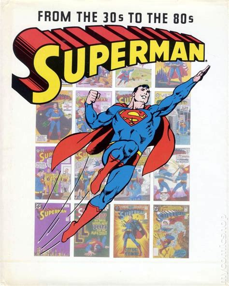 from superman to books superman from the 30 s to the 80 s hc 1983 crown comic books