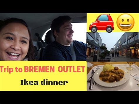 l with outlet ikea drive to bremen l bremen outlet l dinner in ikea youtube