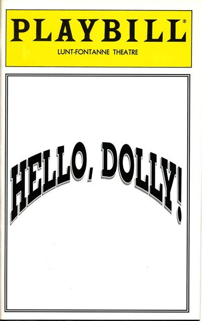 playbill template beepmunk
