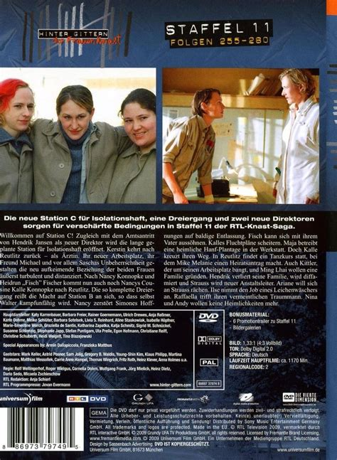 hinter gittern dvd hinter gittern der frauenknast staffel 11 dvd oder