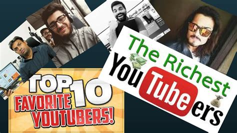 top 10 indian youtubers 2017 richest youtubers in india 2017 popular youtubers 2017