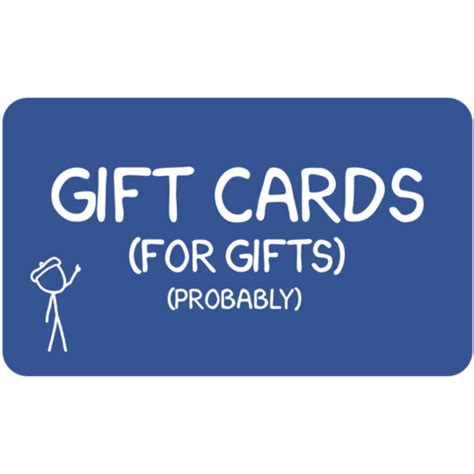 Can You Use E Gift Cards In Stores - xkcd store gift card the xkcd store