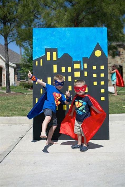 superhero themed games kara s party ideas superhero themed birthday party via