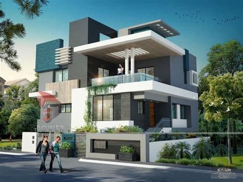 home design sles for india modern home design render by 3dpower 3d power