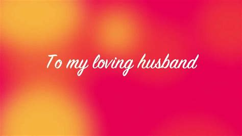 special message to my husband to my husband on s day musical e card