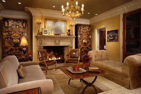 Opulent Rooms opulent living room design with ornate fireplace laundry rooms projects
