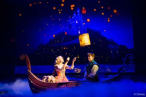 theme line rapunzel tangled the musical debuts on the disney magic plus