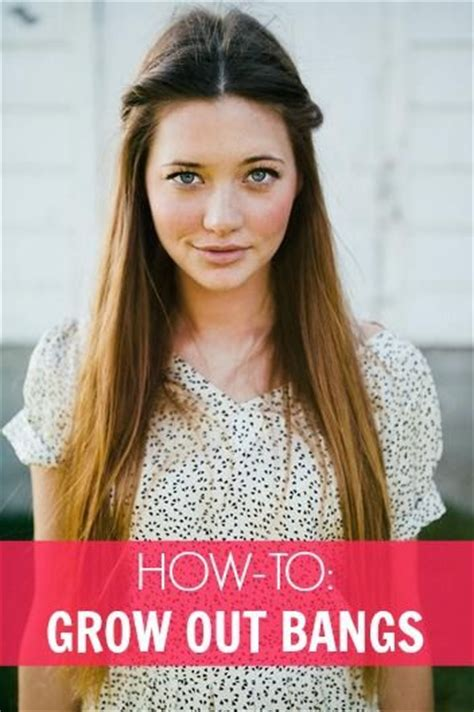 how to style hair that grows forward on top growing out bangs 10 ways to pin them back bangs hair