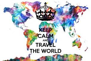 The World Keep Calm And Travel The World Poster Simon Keep Calm