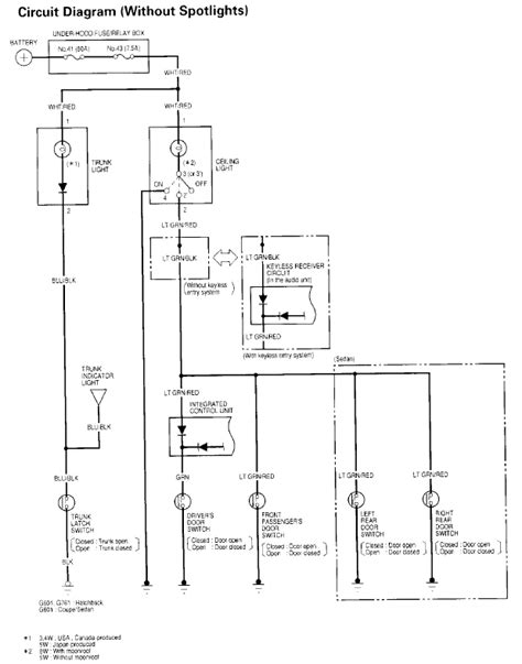 1991 honda accord dome light wiring diagrams wiring diagram
