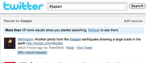earthquake twitter twitter survey shows how to imporve use in disasters