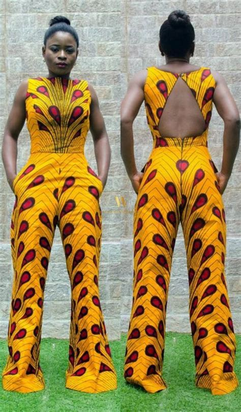 jumpsuit with ankara fabulous ankara jumpsuits worn by slayers a million