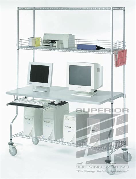 Wire Computer Desk by Wire Rack Desk Bcep2015 Nl