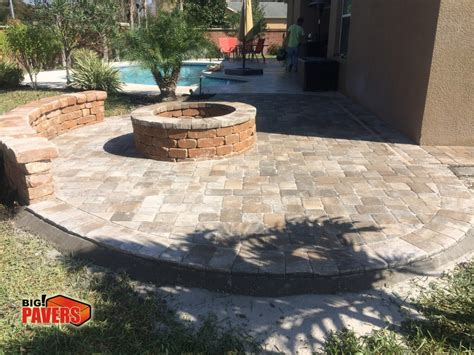 Firepit Menu Pit Big Pavers Llc