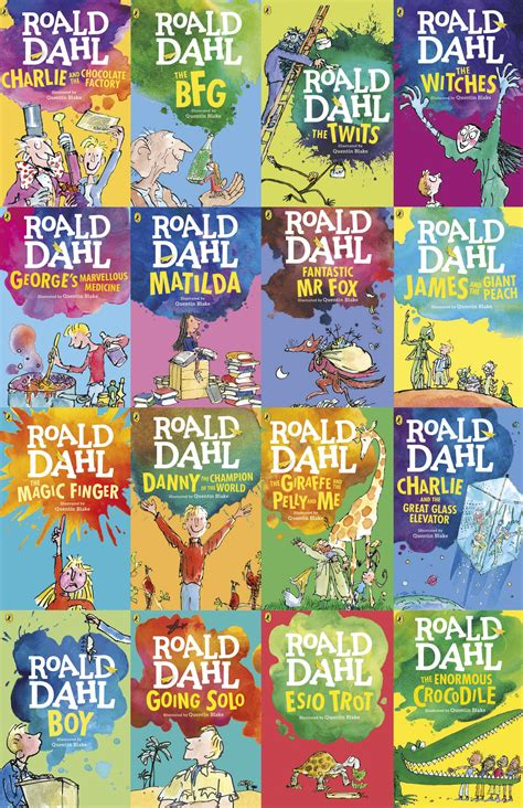 roald dahl book pictures and the winner is win we ve got 15 books from roald dahl