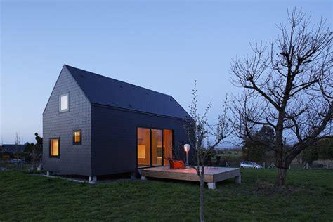 Stationary Tiny House Plans by Petite Maison En Bois Massif Et Ardoises Lode Architecture