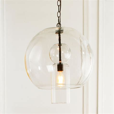 Sphere Pendant Light Bulb Glass Sphere Pendant Pendant Lighting By Shades Of Light