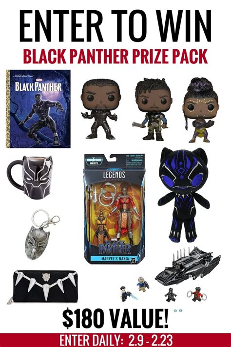 win this valentine s day mega prize pack giveaway 250 enter to win a black panther prize pack blackpanther