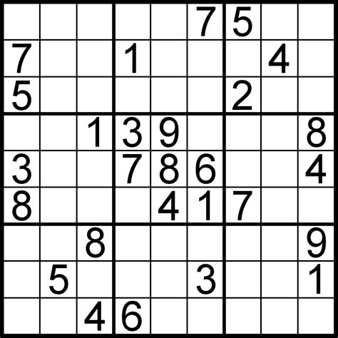 printable sudoku crossword puzzles sudoku of the day free sudoku for your local publications