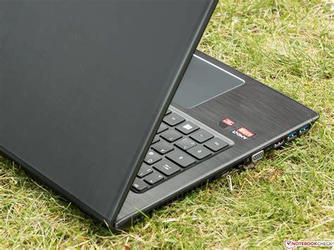 Laptop Acer Aspire E5 553g acer aspire e5 553g 109a notebook review notebookcheck net reviews