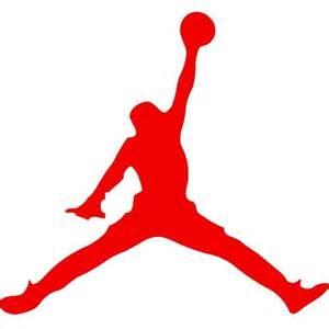 Michael Jordan Wall Stickers Michael Jordan Jumpman Auto Car Decal Sticker Vinyl Black