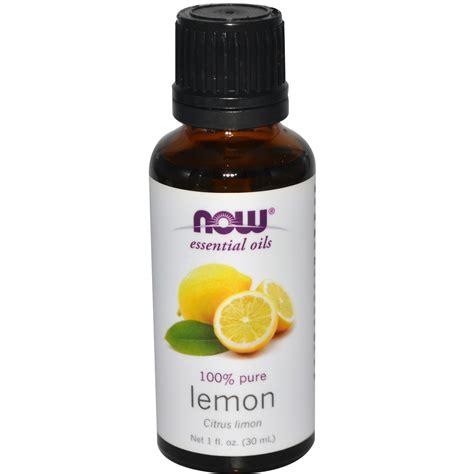 Essential Oils by Now Foods Essential Oils Lemon 1 Fl Oz 30 Ml Iherb