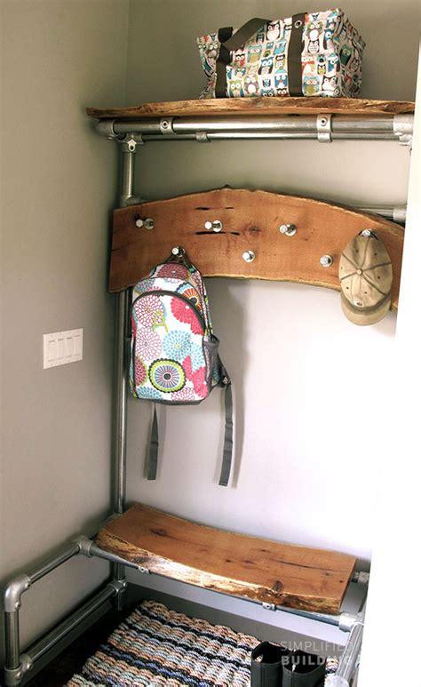 diy entryway bench  coat rack simplified building