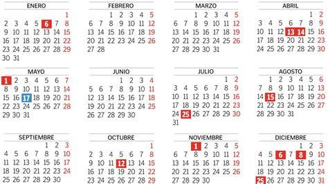 Calendario De La India 2017 Calendario Con Festivos 1 Printable 2018 Calendar