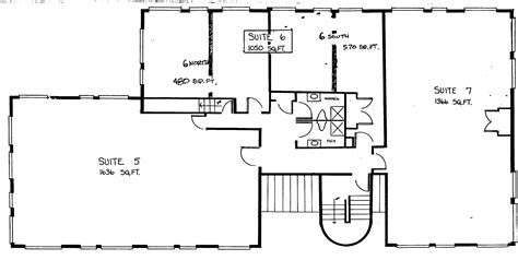 how big is 2500 square feet office floor plans from 500 4 000 sq ft